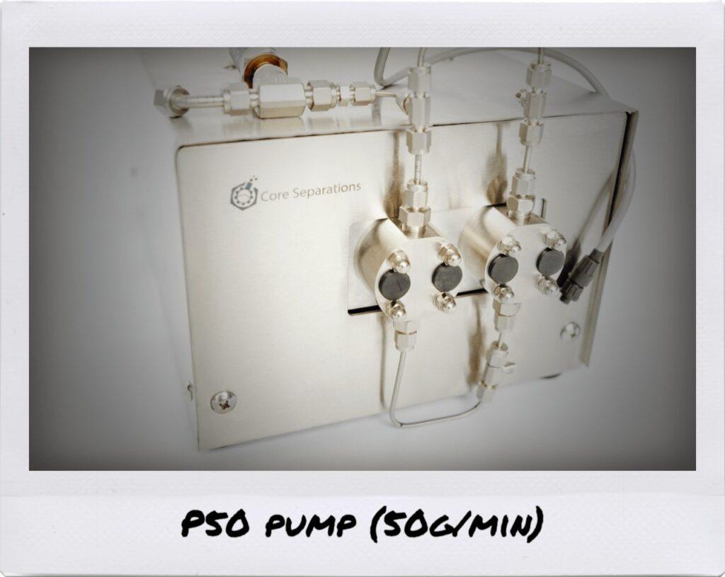 CL series Pumps (689 bar) Core Separations