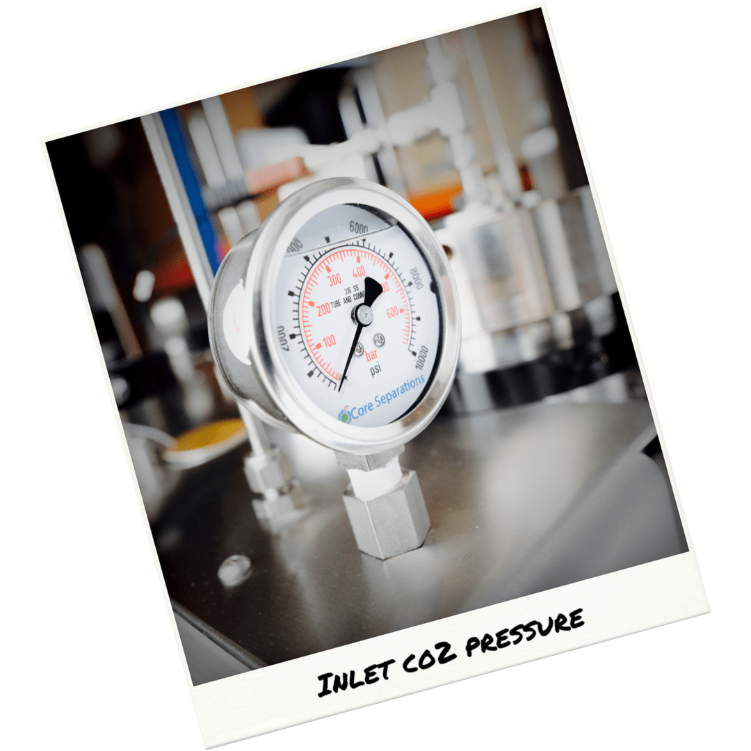 Importance of CO2 Feed from Density to Flow (Part 1 – Pressure) Core Separations