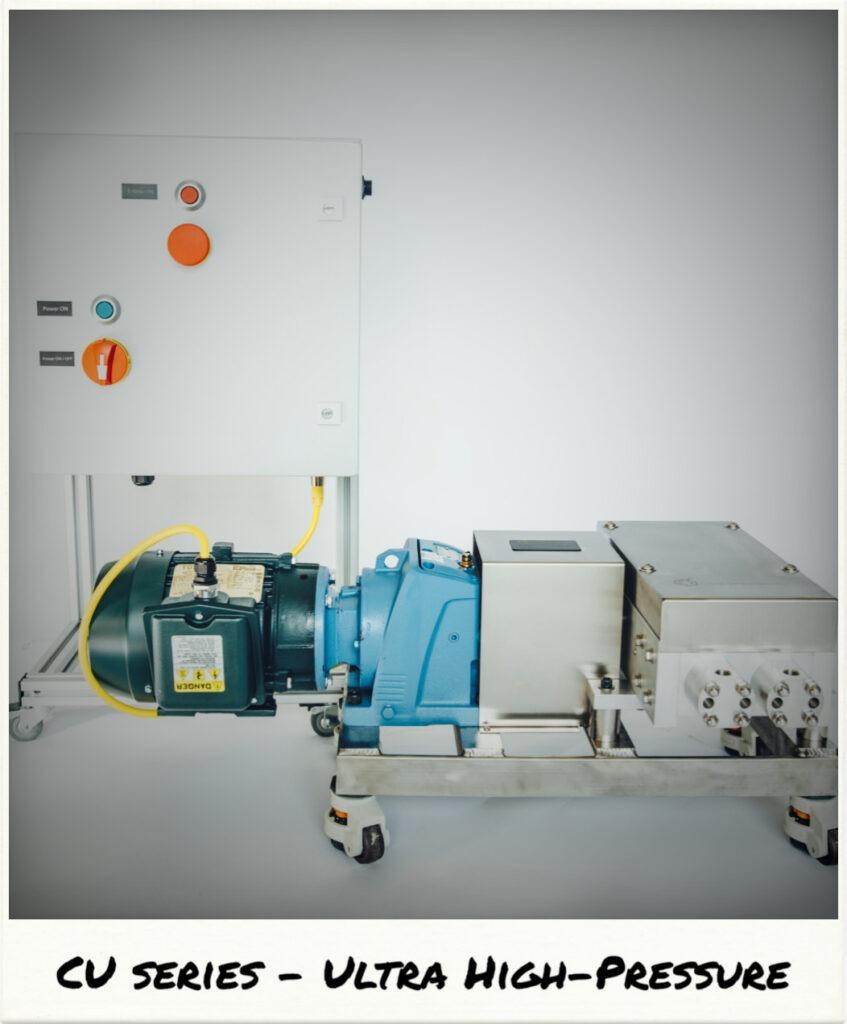 High Pressure CO2 Pumps Core Separations