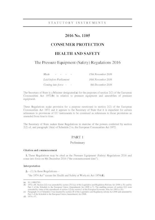 Certification Core Separations